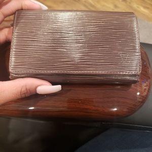 Louis Vuitton Bags - Louis Vuitton Moka Epi Leather Wallet